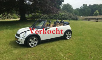 *Verkocht* MINI Cooper Cabrio uit 2004 met 146100 km full