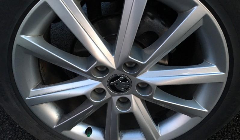 *verkocht* Skoda Octavia 1.6 TDI 77KW Combi Dsg-7 2014 Zwart full