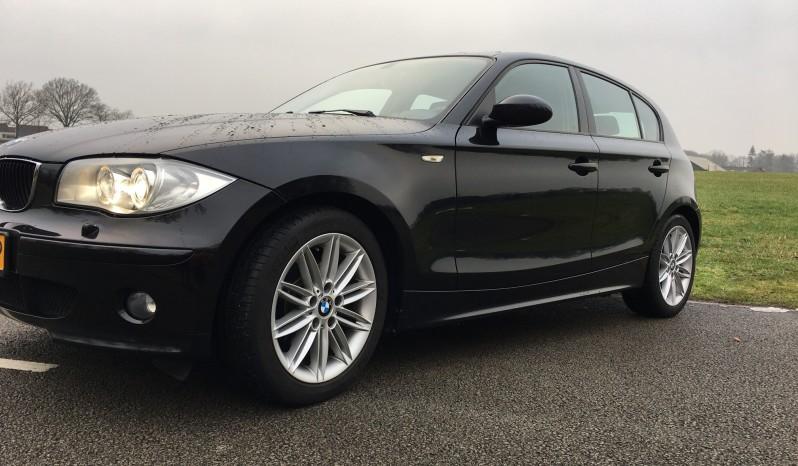 *Verkocht* BMW 120i, 5 deurs, Zwart 11-2005 full