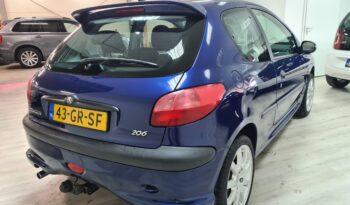 * verkocht *Peugeot 206 1.4 XS | 2001 | NAP | APK 02-2022 | full